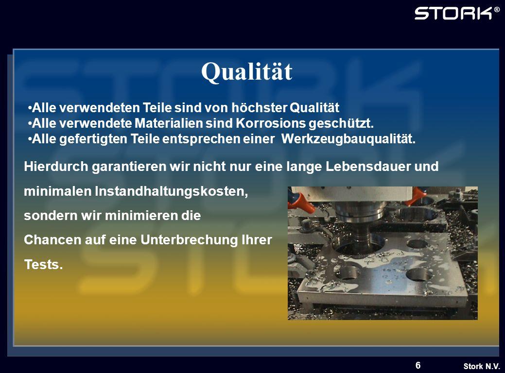 Qualität Alle verwendeten Teile sind von höchster Qualität. Alle verwendete Materialien sind Korrosions geschützt.
