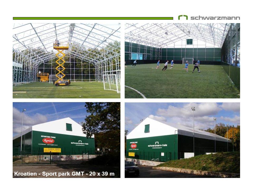 Kroatien - Sport park GMT - 20 x 39 m