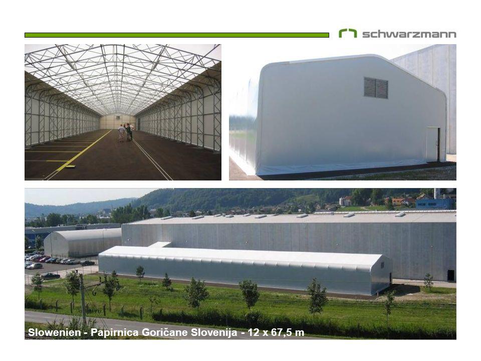 Papirnica Goričane Slovenija - 12x67,5m