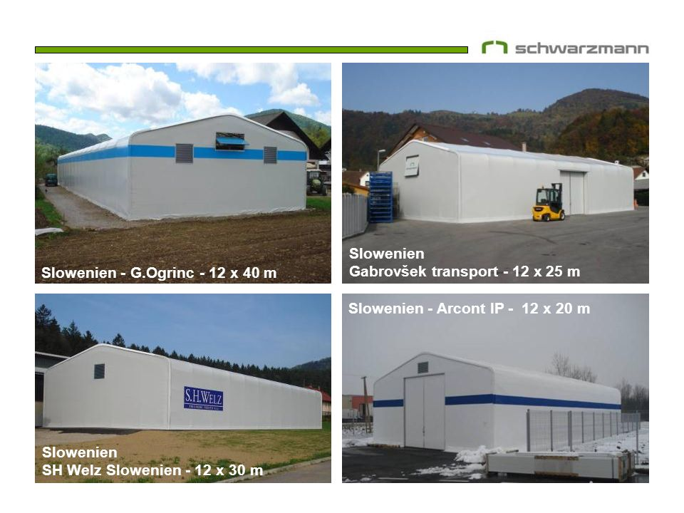 Slowenien Gabrovšek transport - 12 x 25 m