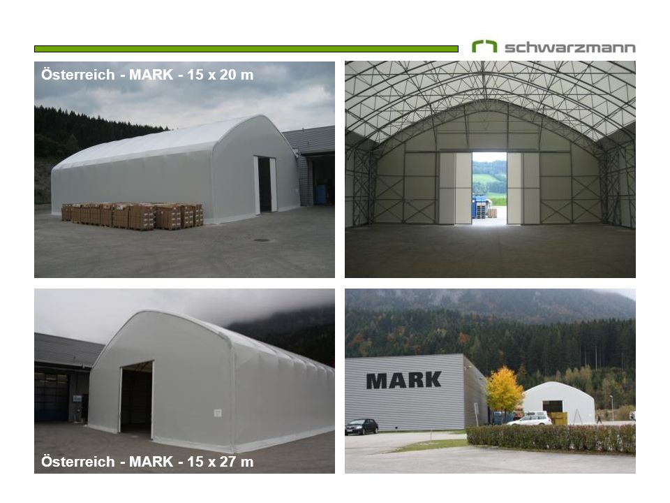 Österreich - MARK - 15 x 20 m Österreich - MARK - 15 x 27 m