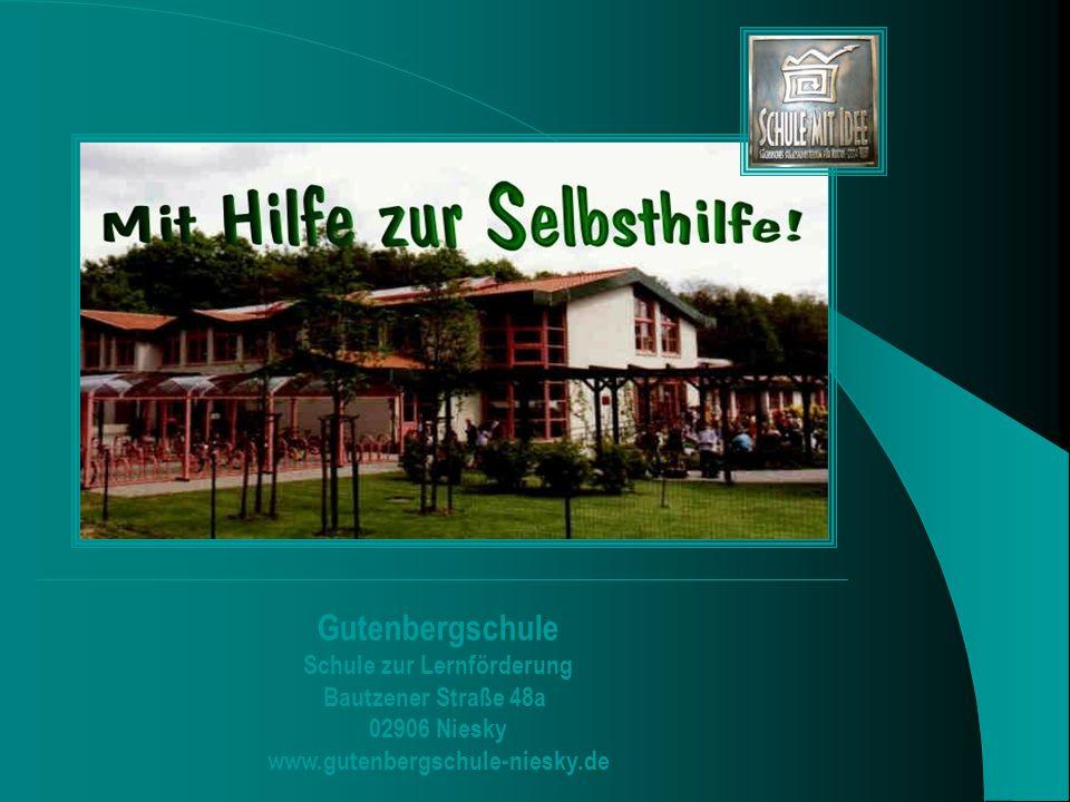 Gutenbergschule Schule zur Lernförderung Bautzener Straße 48a 02906 Niesky
