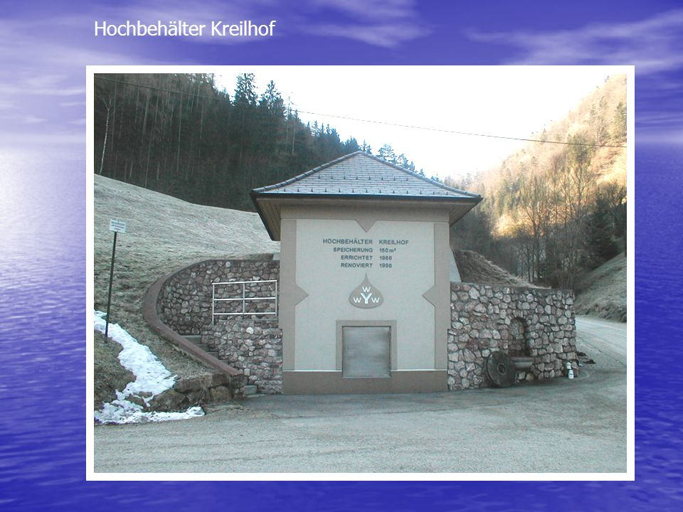 Hochbehälter Kreilhof