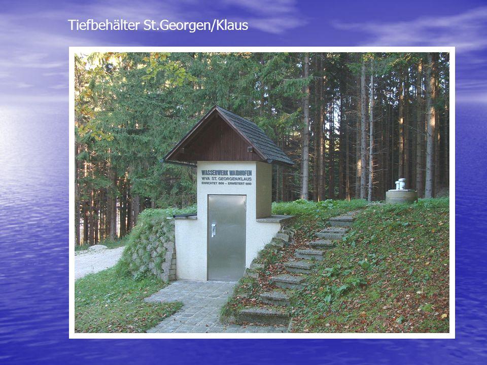 Tiefbehälter St.Georgen/Klaus