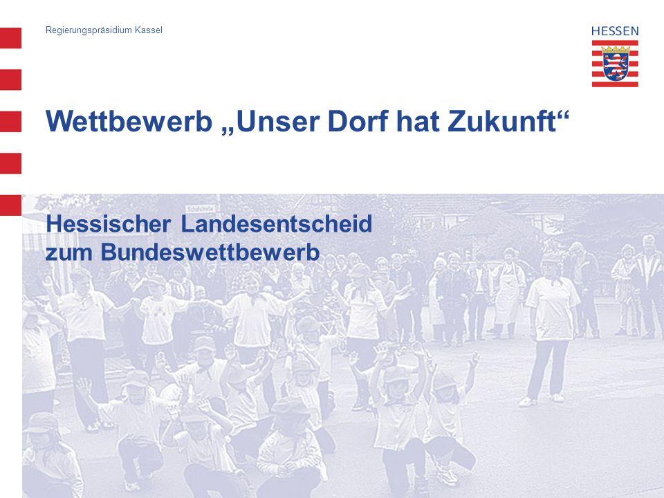 """Wettbewerb """"Unser Dorf hat Zukunft"""