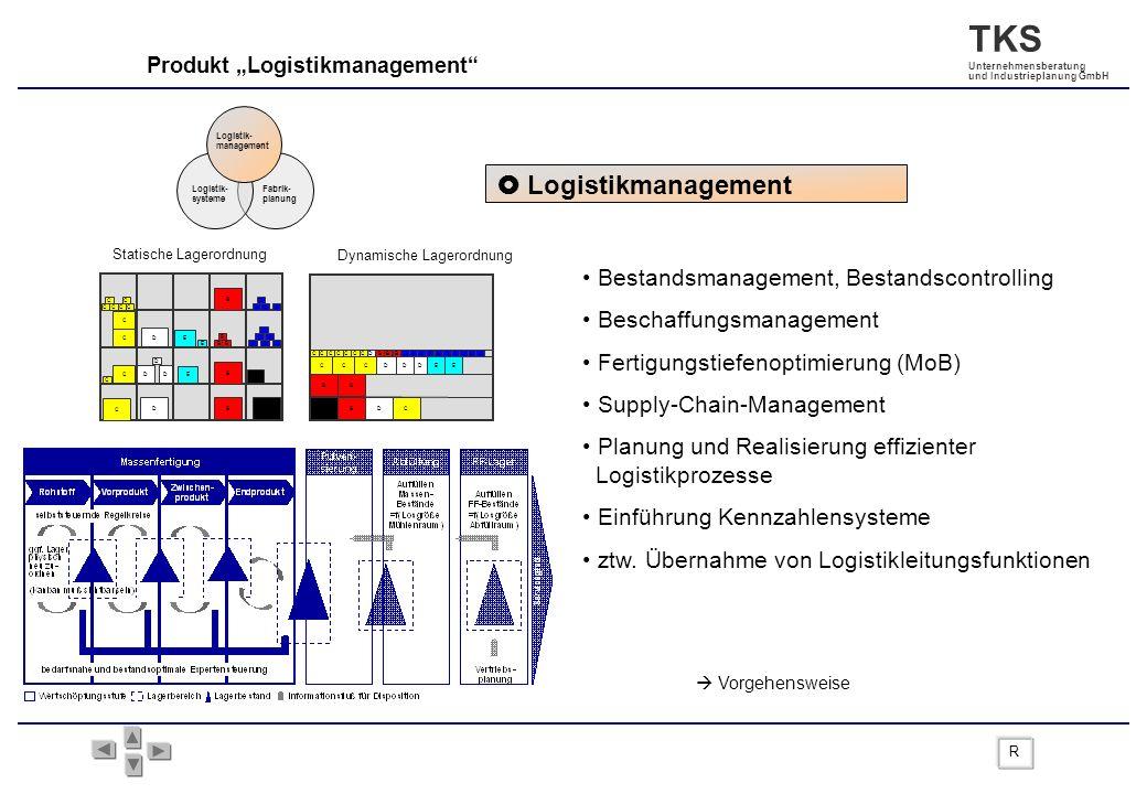  Logistikmanagement Bestandsmanagement, Bestandscontrolling