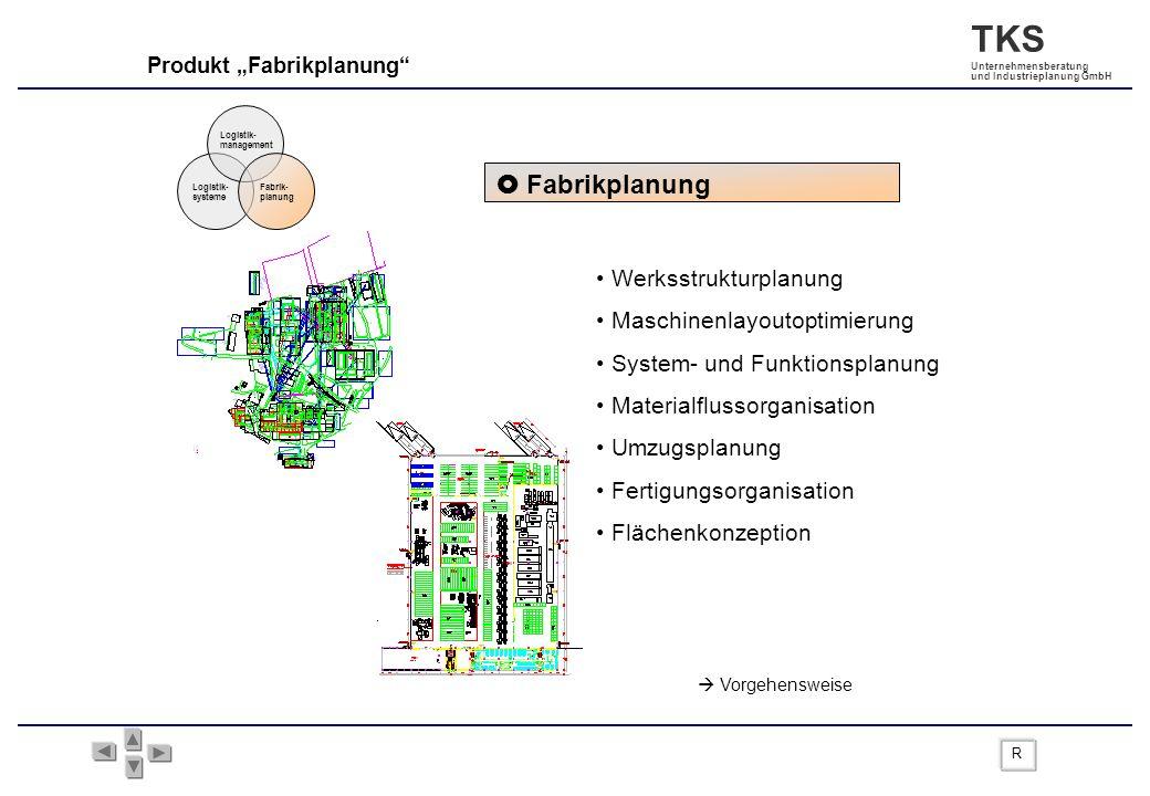  Fabrikplanung Werksstrukturplanung Maschinenlayoutoptimierung