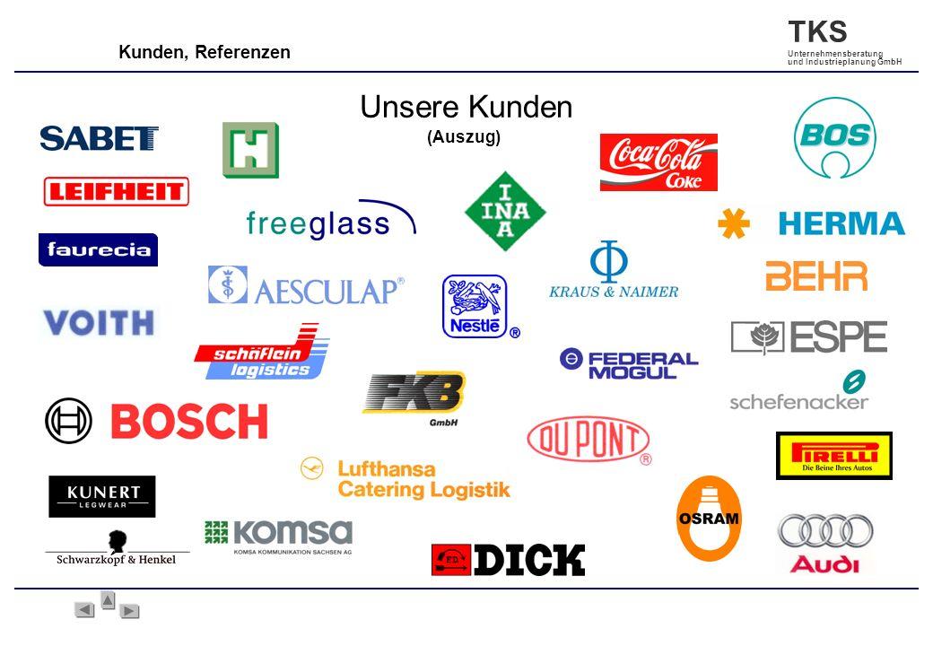 Kunden, Referenzen Unsere Kunden (Auszug)