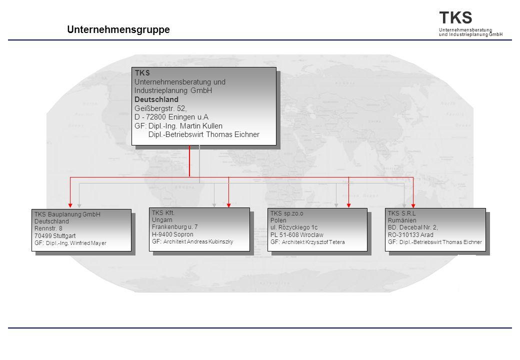 Unternehmensgruppe TKS Unternehmensberatung und Industrieplanung GmbH