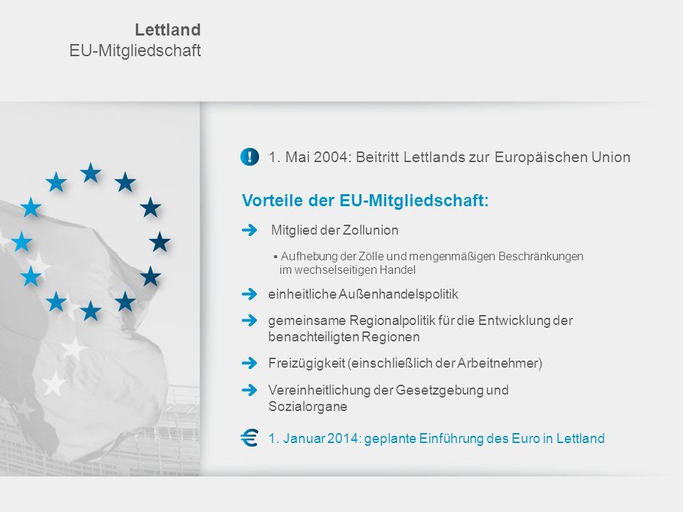 Vorteile der EU-Mitgliedschaft: