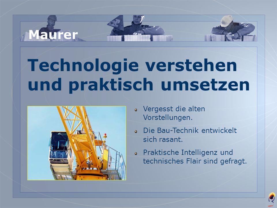 Technologie verstehen und praktisch umsetzen