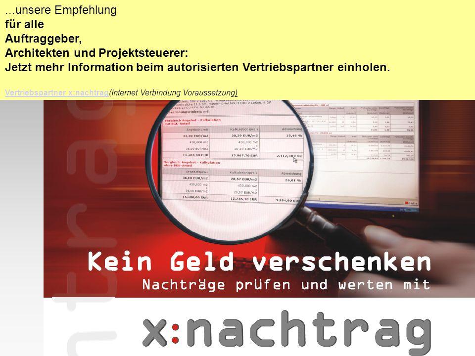 Architekten und Projektsteuerer: