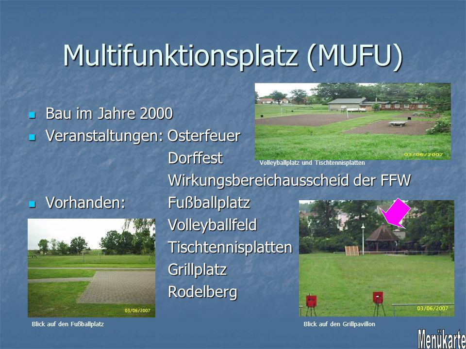 Multifunktionsplatz (MUFU)