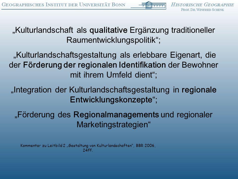 """""""Förderung des Regionalmanagements und regionaler Marketingstrategien"""