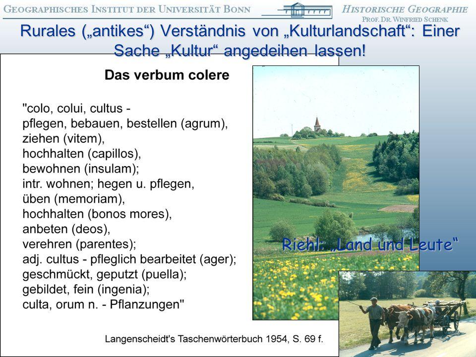 """Riehl: """"Land und Leute"""