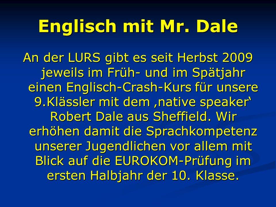Englisch mit Mr. Dale