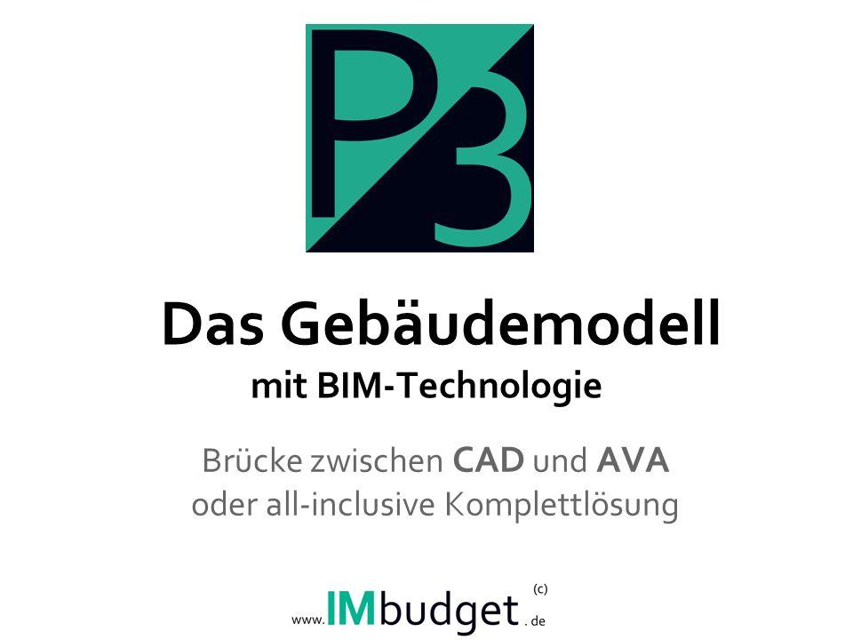 Das Gebäudemodell mit BIM-Technologie