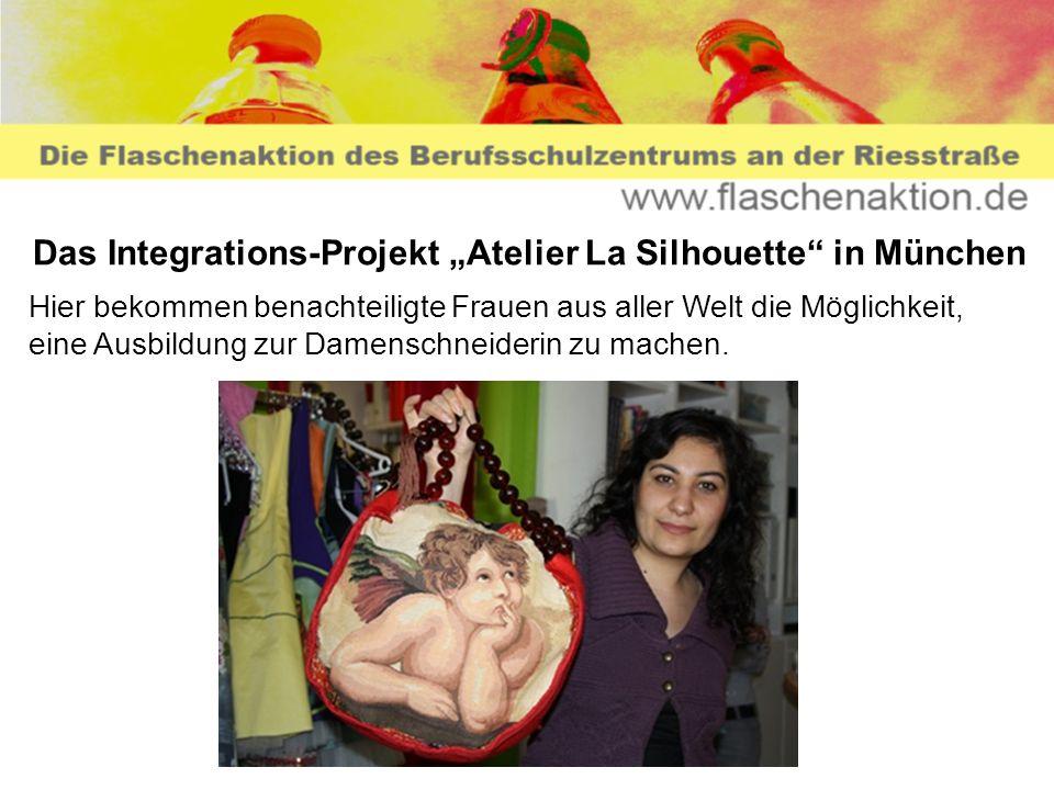 """Das Integrations-Projekt """"Atelier La Silhouette in München"""