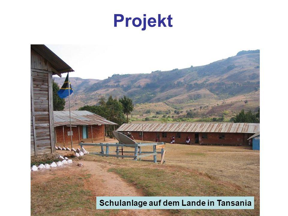 Projekt Schulanlage auf dem Lande in Tansania