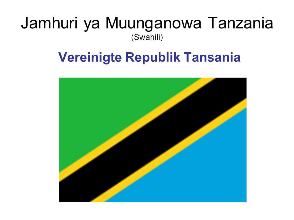 Jamhuri ya Muunganowa Tanzania (Swahili)