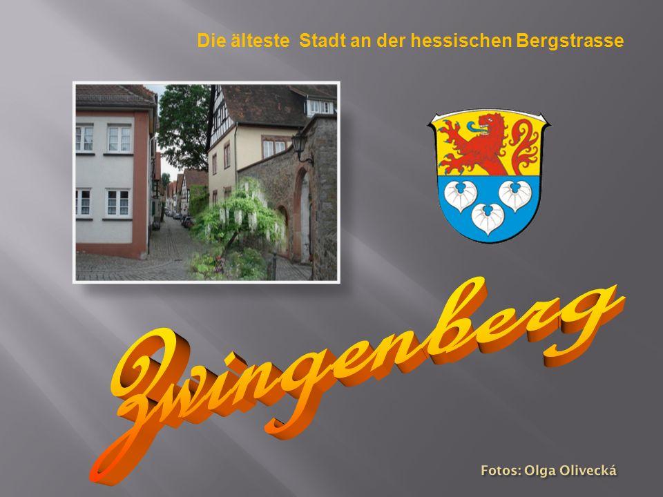 Die älteste Stadt an der hessischen Bergstrasse