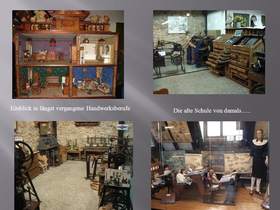 Einblick in längst vergangene Handwerksberufe