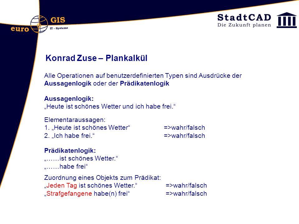 Konrad Zuse – Plankalkül