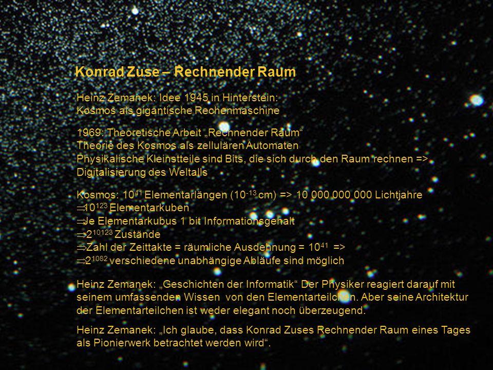 Konrad Zuse – Rechnender Raum