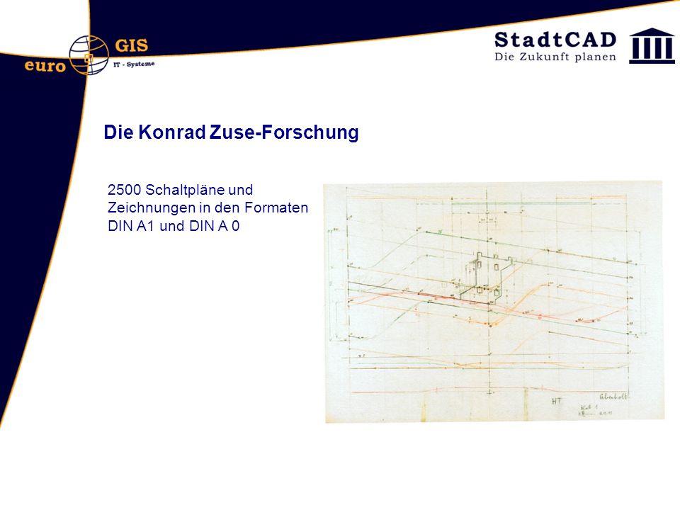Die Konrad Zuse-Forschung