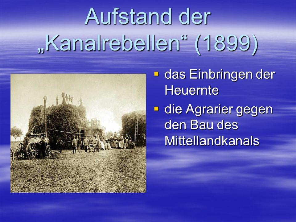 """Aufstand der """"Kanalrebellen (1899)"""