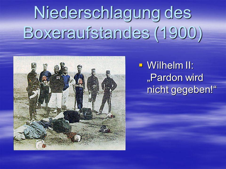 Niederschlagung des Boxeraufstandes (1900)
