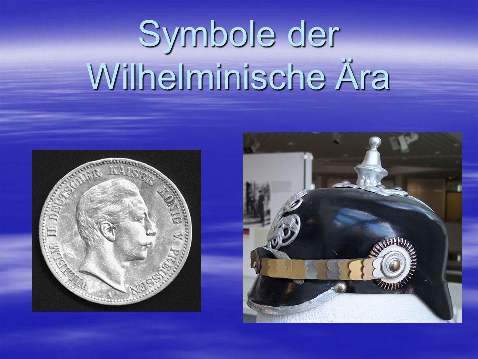 Symbole der Wilhelminische Ära