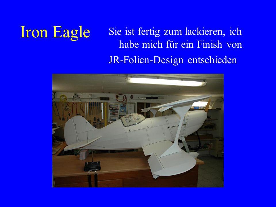 Iron Eagle Sie ist fertig zum lackieren, ich habe mich für ein Finish von.