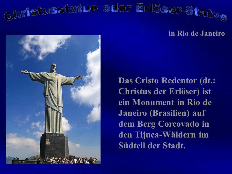 Christusstatue oder Erlöser-Statue