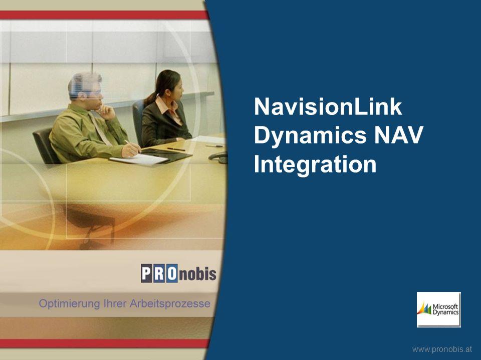 NavisionLink Dynamics NAV Integration
