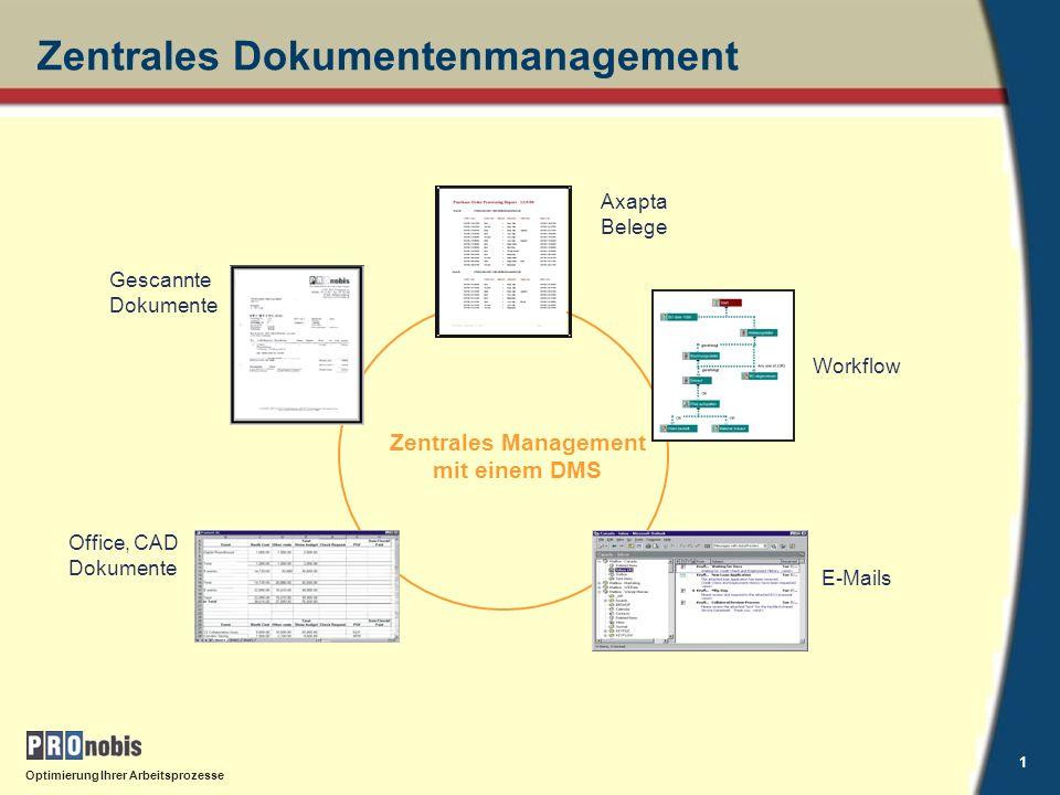 Zentrales Dokumentenmanagement