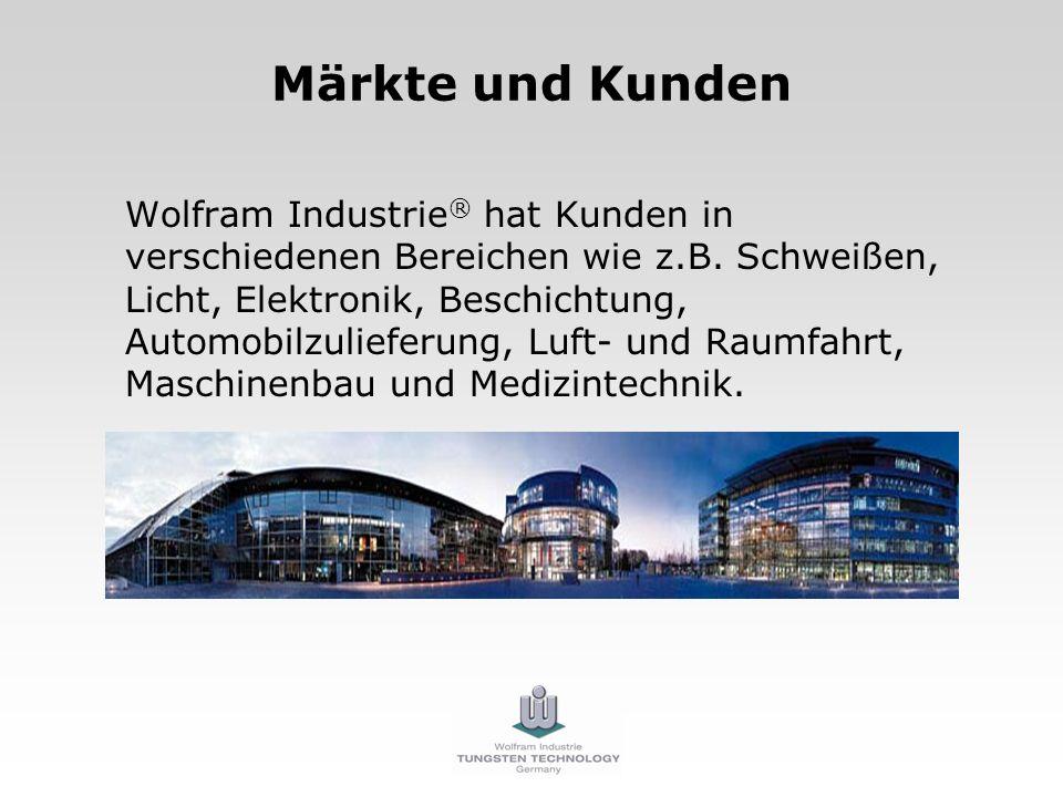 Märkte und Kunden