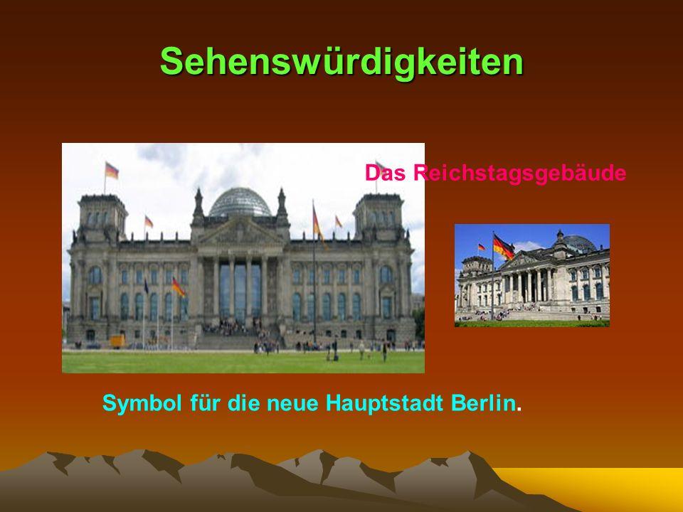 Sehenswürdigkeiten Das Reichstagsgebäude