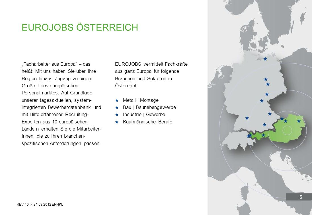 Eurojobs österreich