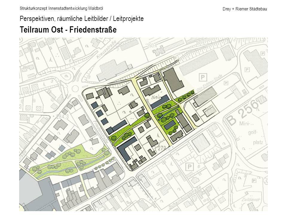 Teilraum Ost - Friedenstraße