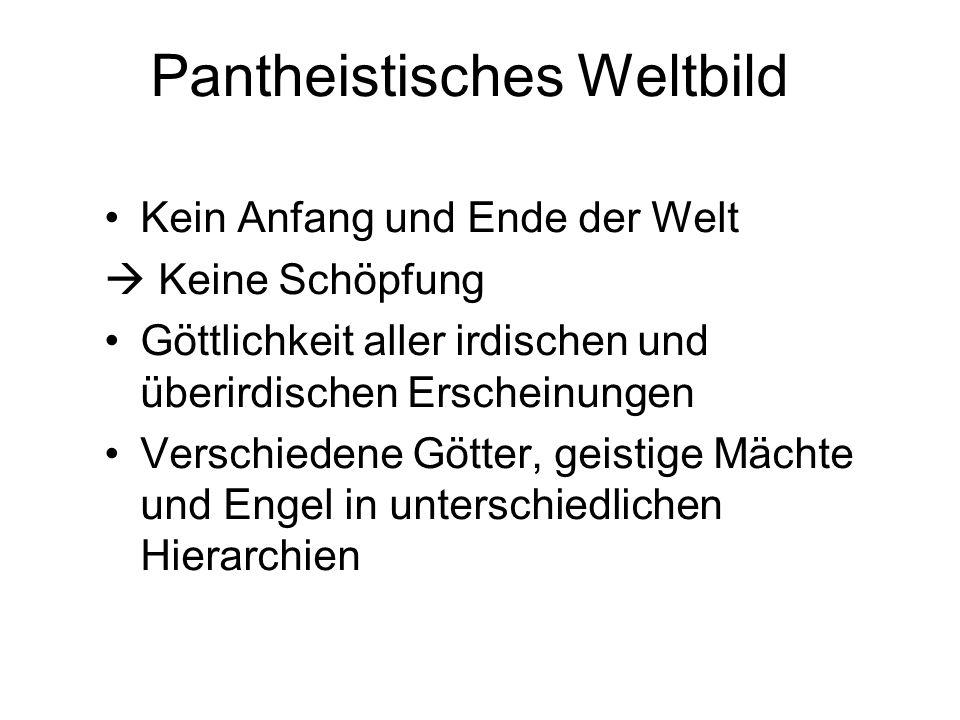 Pantheistisches Weltbild