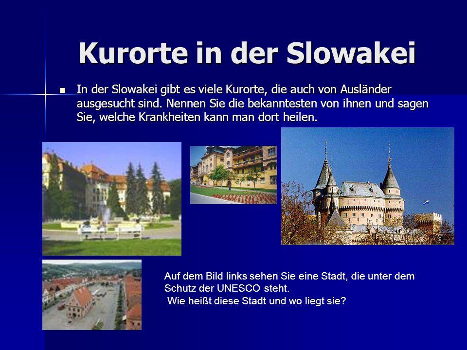 Kurorte in der Slowakei