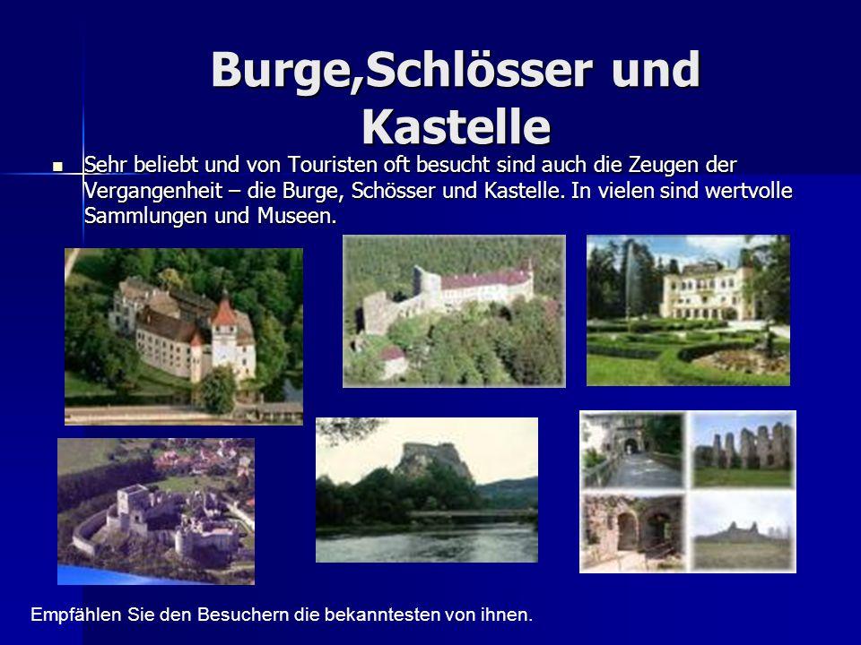 Burge,Schlösser und Kastelle