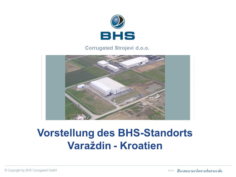 Vorstellung des BHS-Standorts Varaždin - Kroatien