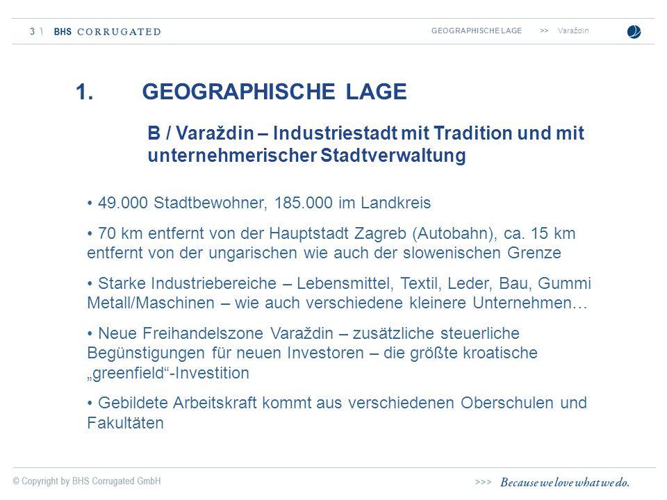 GEOGRAPHISCHE LAGE >> Varaždin