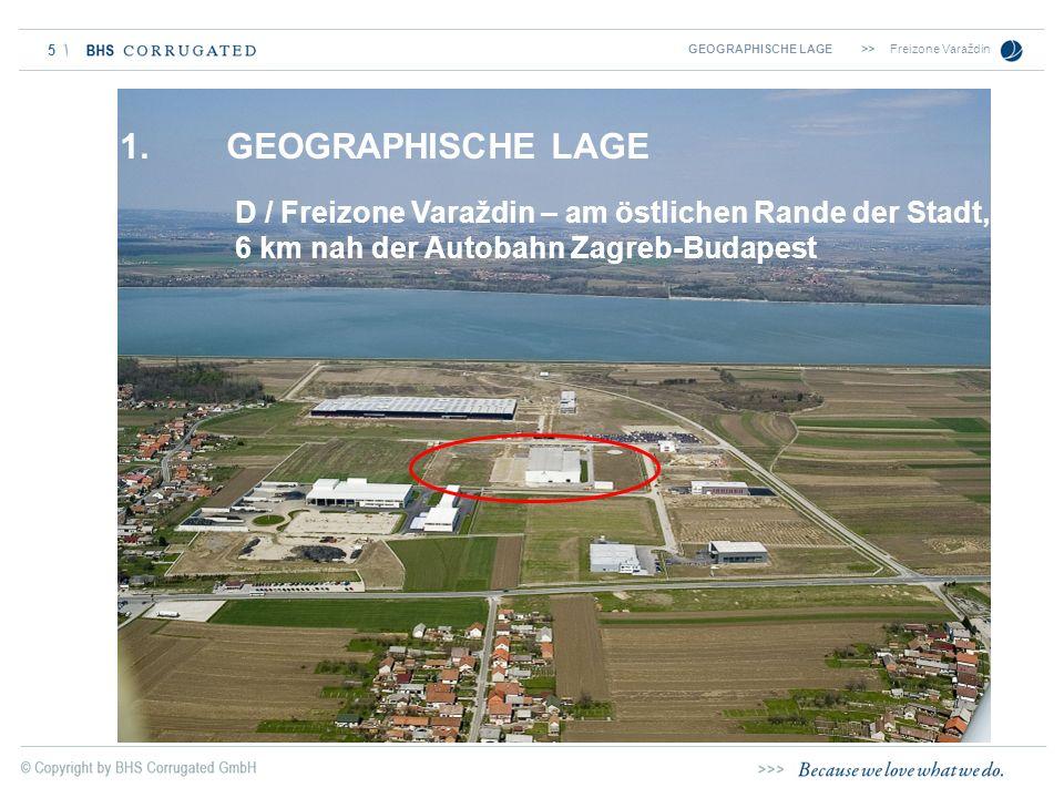 GEOGRAPHISCHE LAGE >> Freizone Varaždin