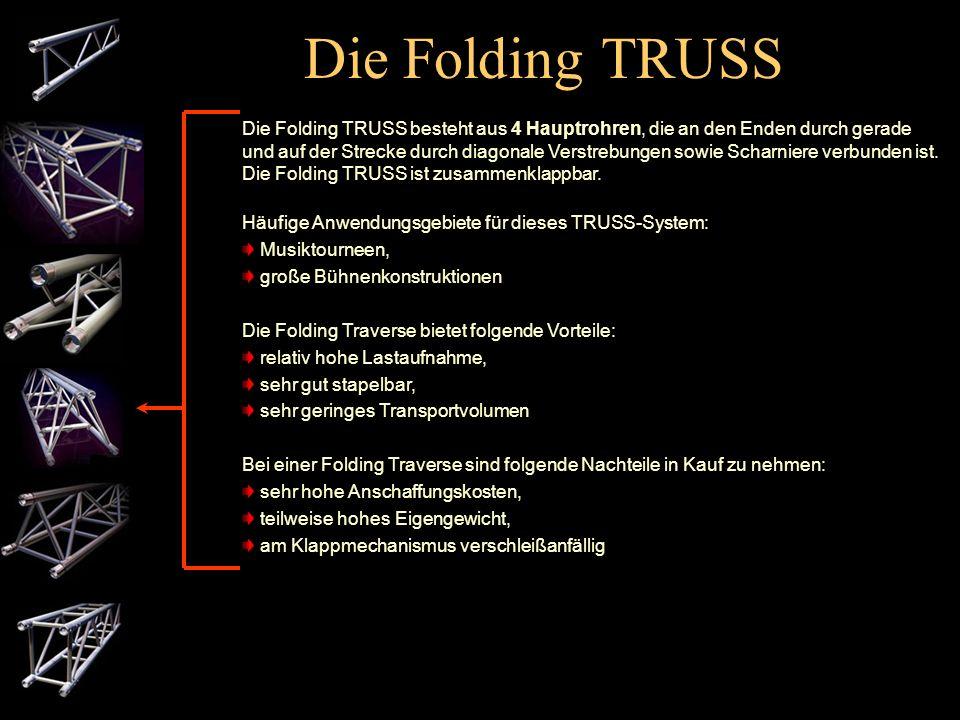 Die Folding TRUSS