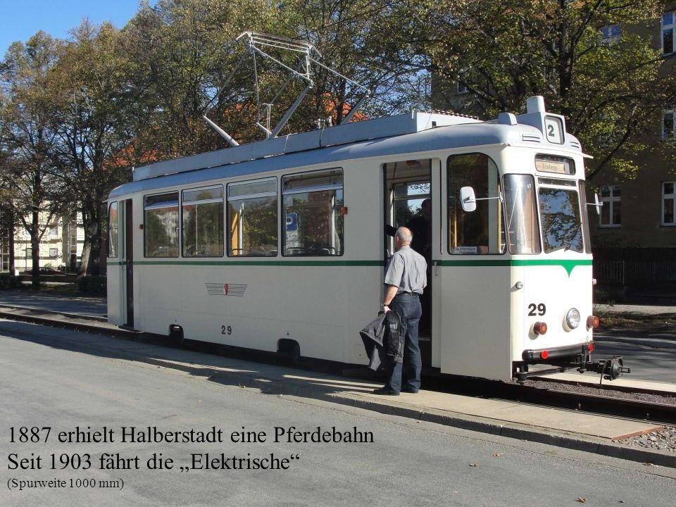 1887 erhielt Halberstadt eine Pferdebahn