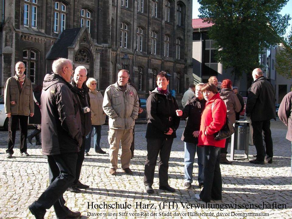 Hochschule Harz, (FH) Verwaltungswissenschaften