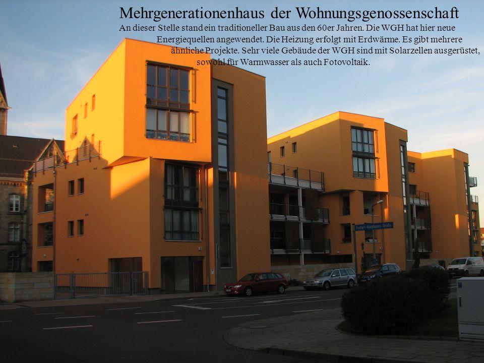 Mehrgenerationenhaus der Wohnungsgenossenschaft